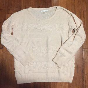 LC Lauren Conrad Textured Sweater